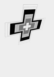 Cible croix