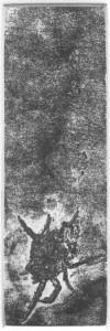Fabien Yvon gravure chutes de fossiles 9